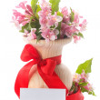 Bouquet of pink flowers — Stock Photo #58808149