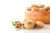 Nut cookies — Stock Photo