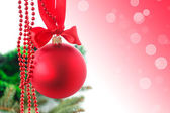 Kerstkaart met speelgoed — Stockfoto