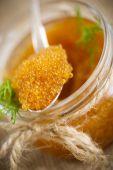 Pike caviar — Stock Photo