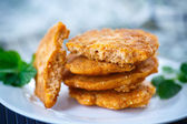 Fried fish roe — Stock Photo