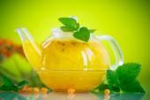 Buckthorn tea — Stock Photo