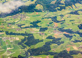 Aerial view of Bavaria, Germany — Stock Photo