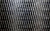 Grunge metallic grid or grille background — Stock Photo