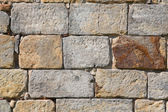 Old brick stone wall background — Stock Photo