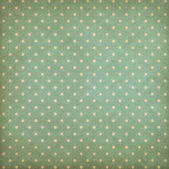 Retro polka dot blue or cyan pattern on old wallpaper — Stock Photo
