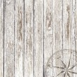 Vintage wood background with compass — Stock Photo #58401515