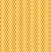 Honeycomb or bee honey comb seamless texture — Stock Photo