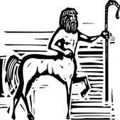 Greek Centaur — Stock Vector