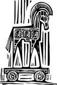 Paard van Troje — Stockvector