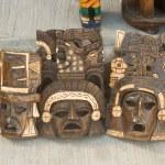 Mayan Wooden Masks — Stock Photo #58117479
