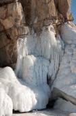 Melting glaciers. global warming.  Used toning of the photo. — Stock Photo