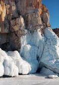 Lo scioglimento dei ghiacciai. il riscaldamento globale. Usato tonificazione della foto. — Foto Stock