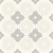Fabric or vintage wallpaper  texture seamless  tile background — Stockvector