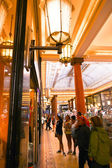 Tourists stroll and shoping at Mall , Paris, France.  — Stock Photo