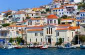 View of the beautiful Greek island, Hydra. Greece, Athens — Stock Photo