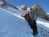 Road to Aconcagua — Stockfoto