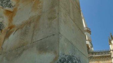 Batalha Monastery, Portugal — Stock Video
