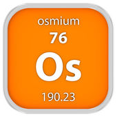 Osmium material sign — Stock Photo