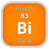 Bismuth material sign — Stock Photo
