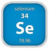 Selenium material sign — Stock Photo