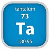 Tantalum material sign — Stock Photo