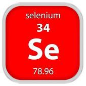 Selenium material sign — Stock Photo