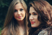 Mother with teenage daughter — Stock Photo