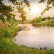 Lake in evening — Stock Photo #64698227
