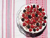 Berries tart cake — Foto de Stock