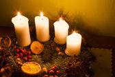Advent season decorations — Foto de Stock