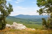 Scenic overlook — Stock Photo