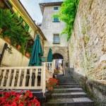 Italian street — Stock Photo #52754513