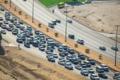 Sharjah traffic — Stock Photo