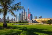 High  buildings   in Dubai — Stock Photo