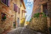 Italian street — Stock Photo