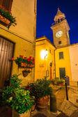 Evening streets of San Marino — Stock Photo