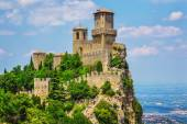 Fortress in San Marino — Stock Photo