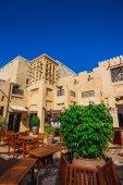 Tourist district of Madinat Jumeirah — Stock Photo