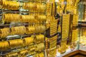 Gold market — Stock Photo