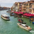 View of the Grand Canal from the Rialto Bridge — Stock Photo #58058717