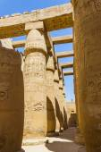 Ancient ruins of Karnak temple in Egypt — Stock Photo