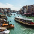 View of the Grand Canal from the Rialto Bridge — Stock Photo #60362273