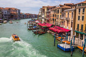 Grand Canal from the Rialto Bridge — Stock Photo