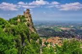 Rocca della Guaita fortress — Stock Photo
