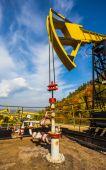 Oil Pump in Russia — Stock Photo
