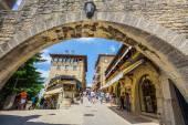 Guaita fortress in San Marino — Stock Photo