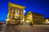 Town square in Florence Italy — Stock Photo
