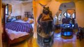Hang Nga Crazy House in  Vietnam — Stock Photo
