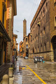 General view of downtown Bologna streets — Stock Photo